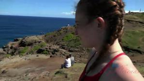 Danni has a great day out in Hawaii!